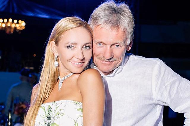 Татьяна Навка и Дмитрий Песков отмечают годовщину свадьбы