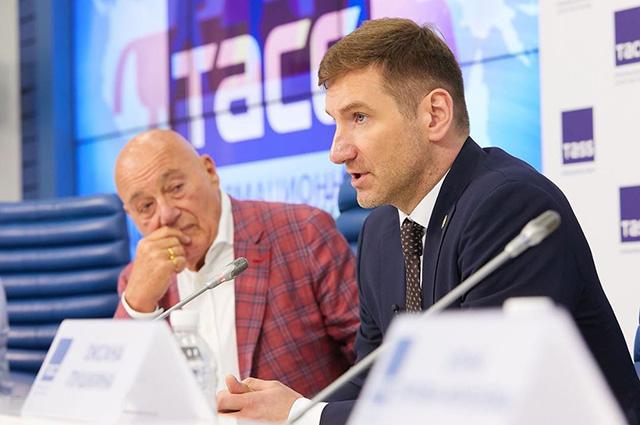 Владимир Познер и Антон Красовский