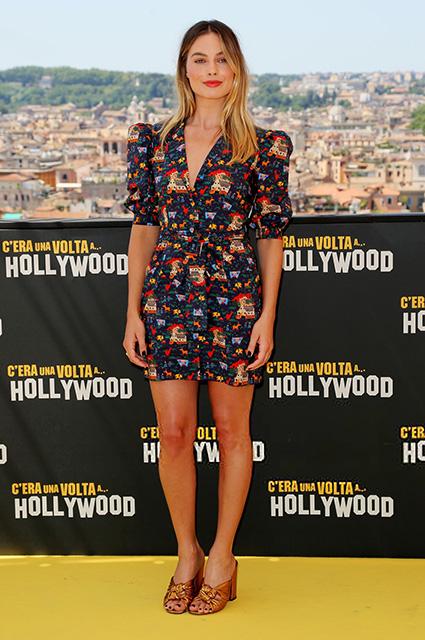 Леонардо ДиКаприо, Марго Робби и Квентин Тарантино представили фильм «Однажды в… Голливуде» в Риме