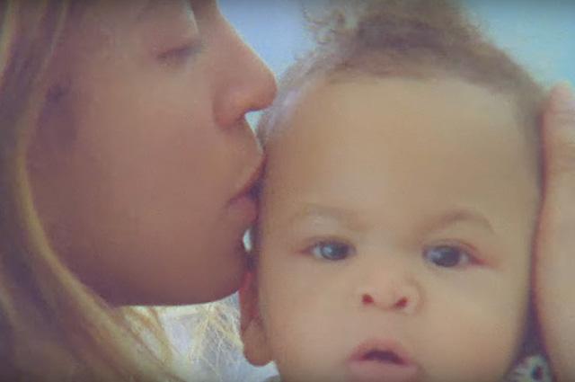 Бейонсе с сыном Сэром