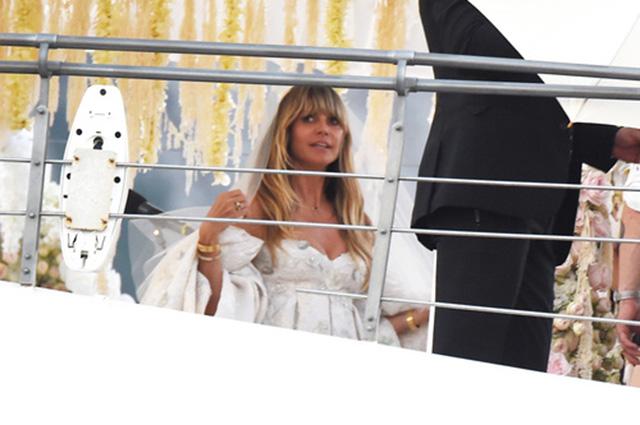 Хайди Клум и Том Каулитц сыграли свадьбу на Капри: фото