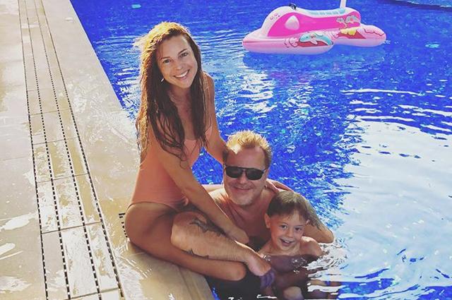Наталья Подольская и Владимир Пресняков проводят каникулы с сыном в Турции