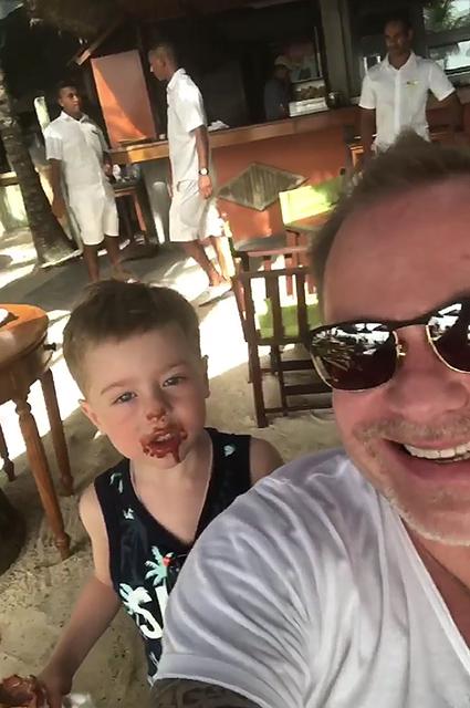 Владимир Пресняков с сыном