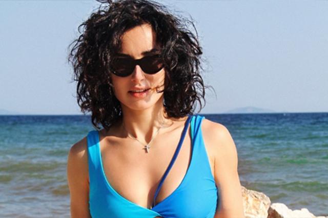Тина Канделаки с дочкой Меланией проводит отпуск в Греции
