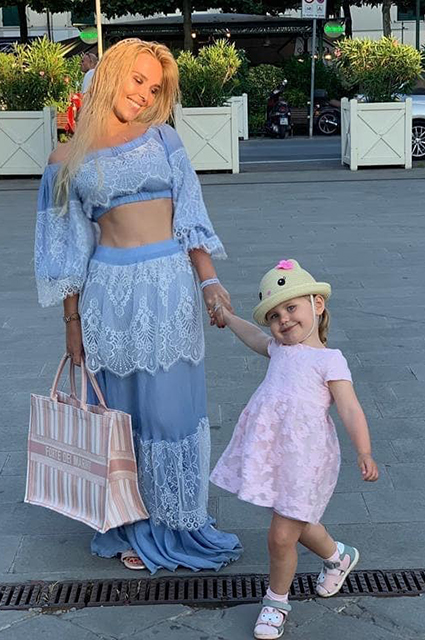 Пелагея с дочерью Таисией