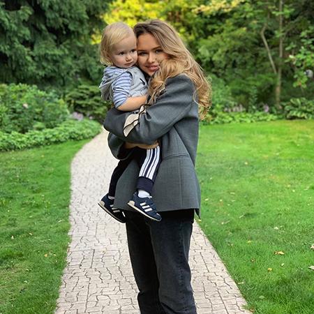 Стефания Маликова с братом Марком