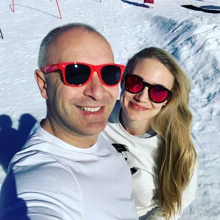 Оксана Акиньшина с мужем