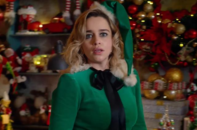 Эмилия Кларк в образе эльфа в первом трейлере фильма
