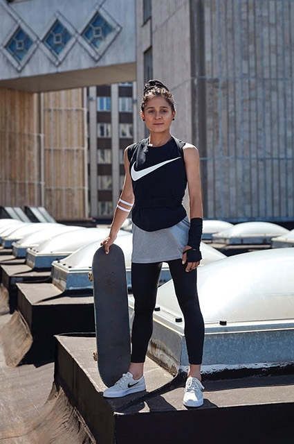 Чемпионка России по скейтбордингу Екатерина Шенгелия: что мы о ней знаем