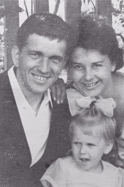 Алена Свиридова с мамой и папой