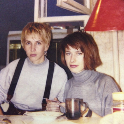 Алена Свиридова с подругой Светланой Мурашкиной