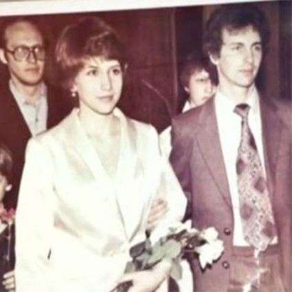 Алена Свиридова с первым мужем