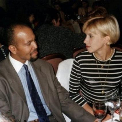 Алена Свиридова со вторым мужем