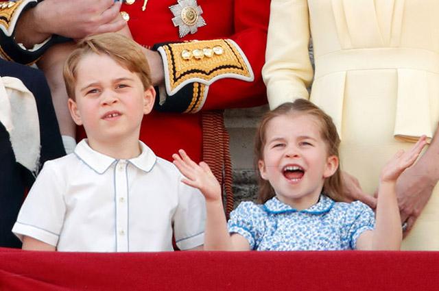 Инсайдер об отношениях принца Джорджа и принцессы Шарлотты: