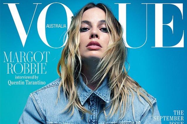 Марго Робби снялась сразу для четырех обложек австралийского Vogue
