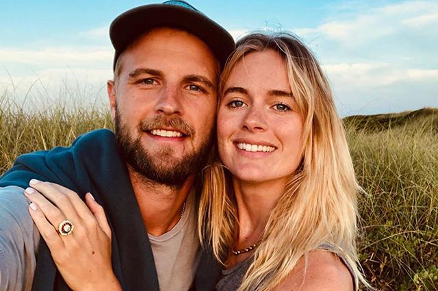 Бывшая возлюбленная принца Гарри Крессида Бонас выходит замуж
