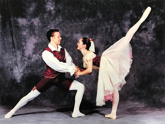 Джейсон Киттельбергер и Джесс Треттер в Draper School of Dance and School of the Arts