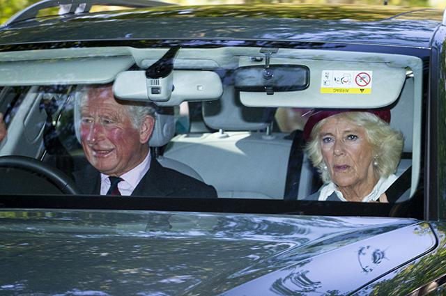 Принц Чарльз и герцогиня Корнуолльская Камилла