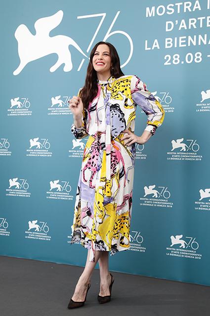 Венецианский кинофестиваль — 2019: Брэд Питт и Лив Тайлер на фотоколле фильма