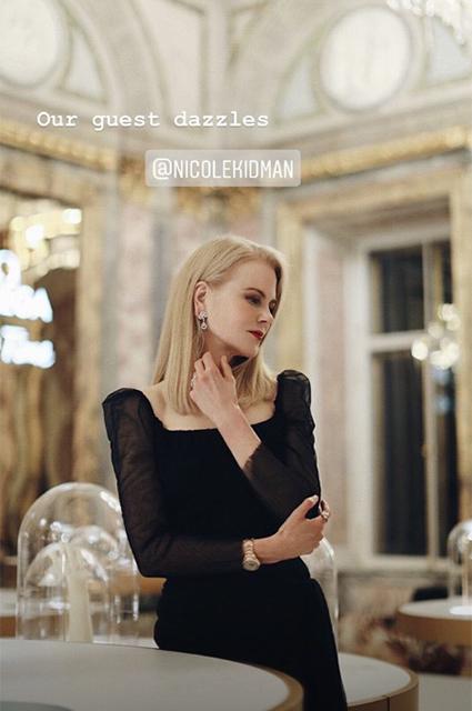 Николь Кидман в платье от Ульяны Сергеенко на торжественном ужине в Санкт-Петербурге