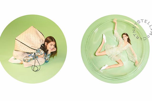 Кайя Гербер и Кейт Мосс снялись в рекламной кампании Stella McCartney