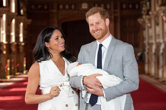 В сети обсуждают имя ребенка Меган Маркл и принца Гарри
