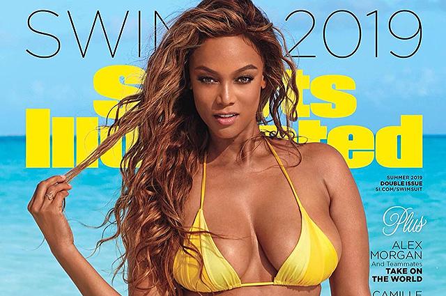 Тайра Бэнкс снялась для обложки Sports Illustrated Swimsuit спустя 20 лет после своего дебюта в журнале