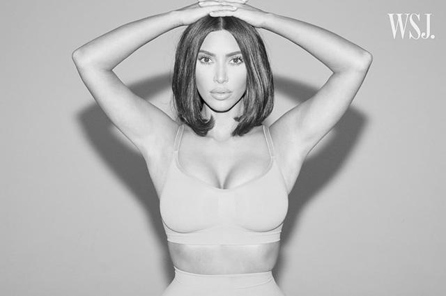 Ким Кардашьян рассказала о своих комплексах из-за насмешек над фигурой в соцсети