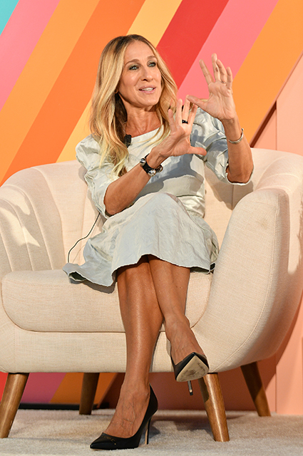 Сара Джессика Паркер на бизнес-саммите в Нью-Йорке