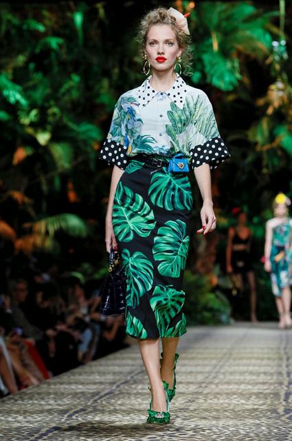 Неделя моды в Милане: Моника Беллуччи, Китти Спенсер и другие на показе Dolce & Gabbana