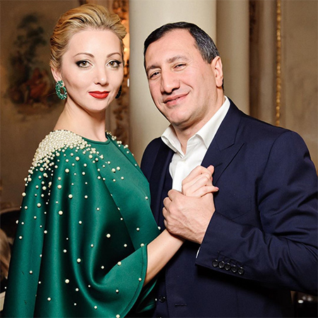 Наталья Ротенберг и Тигран Арзаканцян