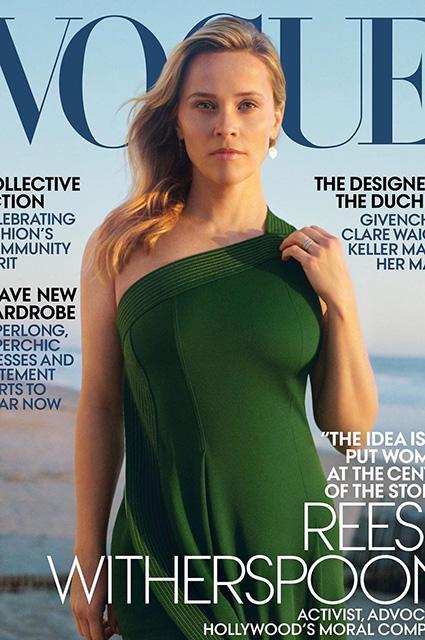 Риз Уизерспун высказалась в интервью о домогательствах в Голливуде и правах женщин