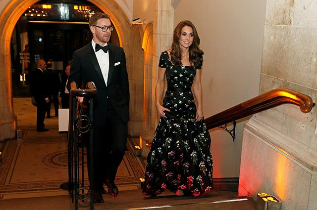 Кейт Миддлтон посетила гала-вечер в Национальной портретной галерее в Лондоне