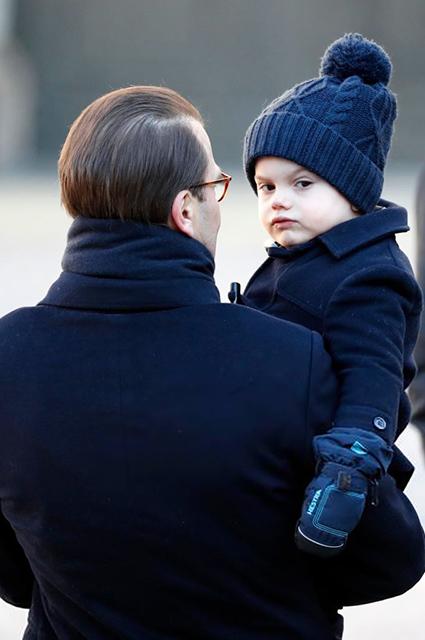 Принц Даниэль и принц Оскар