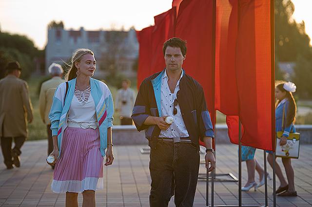 Оксана Акиньшина и Данила Козловский на первых кадрах из фильма о Чернобыле «Когда падали аисты»