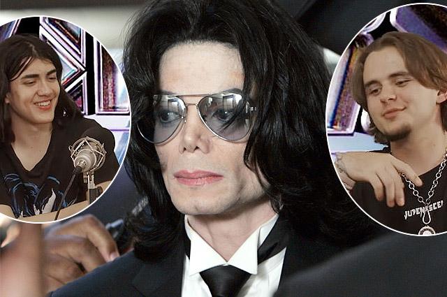 Сыновья Майкла Джексона запустили шоу на YouTube
