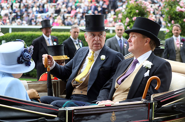 Принц Эндрю и король Нидерландов Виллем-Александр
