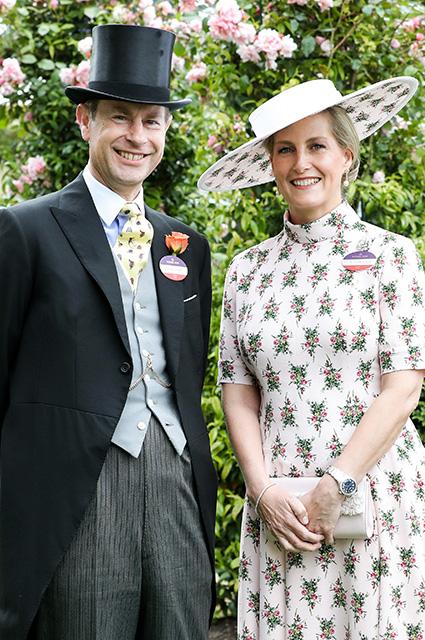 Принц Эдвард и графиня Уэссекская Софи