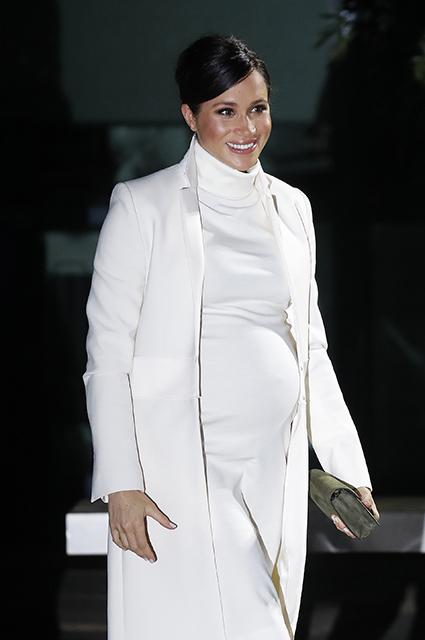 Беременная Меган Маркл совершила тайную поездку в Нью-Йорк