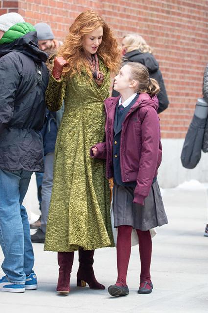 Николь Кидман с дочерью Сандэй Роуз