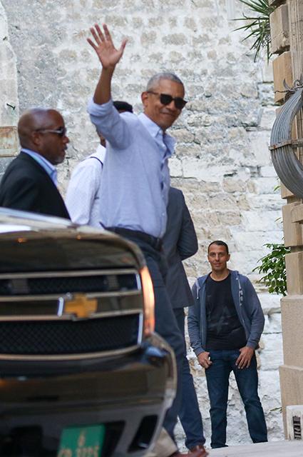 Барак Обама в Авиньоне