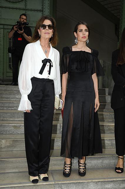 Принцесса Ганноверская Каролина и Шарлотта Казираги