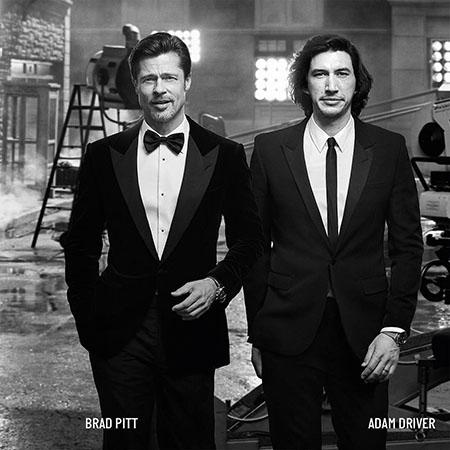 Брэд Питт и Адам Драйвер в рекламе Breitling