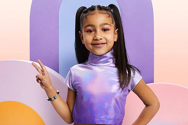 5-летняя дочь Ким Кардашьян и Канье Уэст снимется в Youtube-шоу