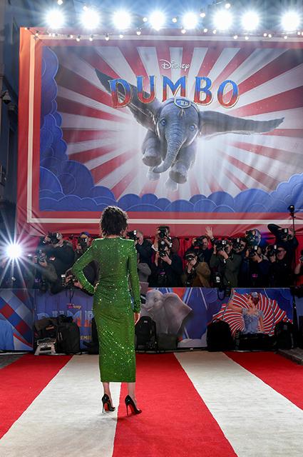 Ева Грин, Колин Фаррелл, Тим Бертон и другие звезды на премьере фильма «Дамбо» в Лондоне