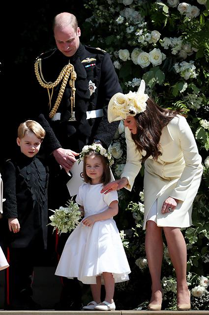 Принц Уильям, принц Джордж, принцесса Шарлотта, Кейт Миддлтон