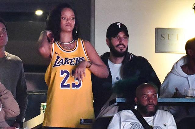 Рианна сходила на баскетбольный матч вместе с саудовским миллиардером Хассаном Джамилем