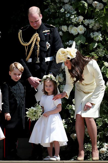 Принц Уильям и Кейт Миддлтон с принцем Джорджем и принцессой Шарлоттой
