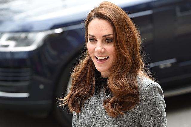 Кейт Миддлтон удивила прохожих у Кенсингтонского дворца