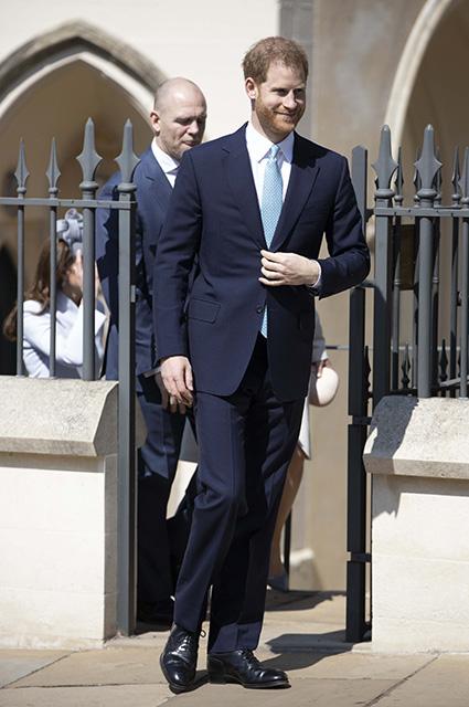 Принц Гарри рассмешил принца Уильяма и Кейт Миддлтон во время пасхальной службы
